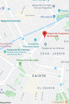 Ubicación Palacio de Congresos de Granada
